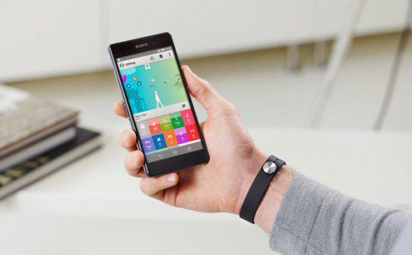bracelet connecté directement à ton smartphone