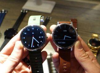 Motorola Moto 360, la nouvelle venue dans le monde des smartwatches.