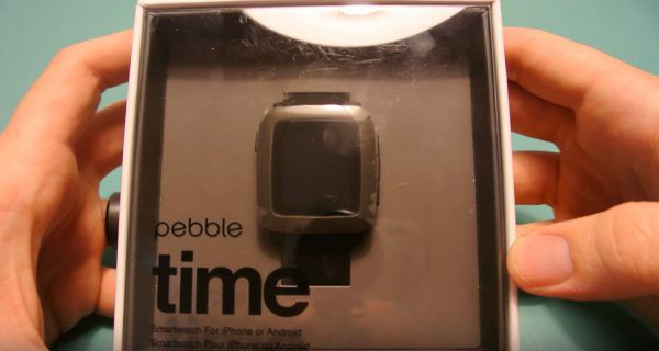 Pebble Time Unboxing