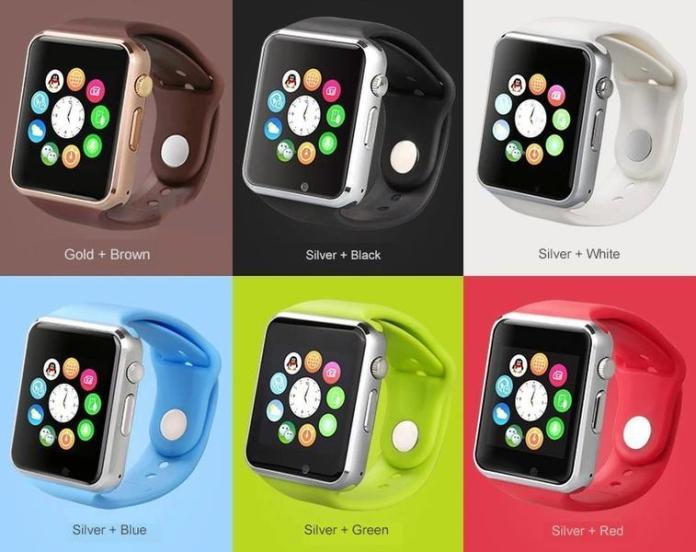 La montre connectée A1 smartwatch est disponible en plusieurs couleurs selon le goût et la convenance de chaque utilisateur