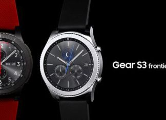 montre Samsung Gear S3 classic frontier