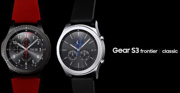 montre Samsung Gear S3 classic frontier