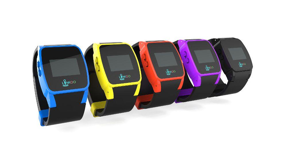 La montre connectée pour enfants Linkoo Pop Junior est disponible en plusieurs couleurs