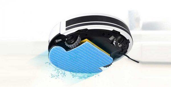 Fonction serpillière du robot aspirateur Chuwi iLife V7S Pro