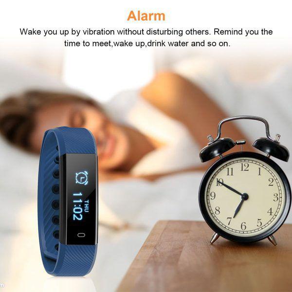 bracelet connecté Diggro ID115HR moniteur sommeil