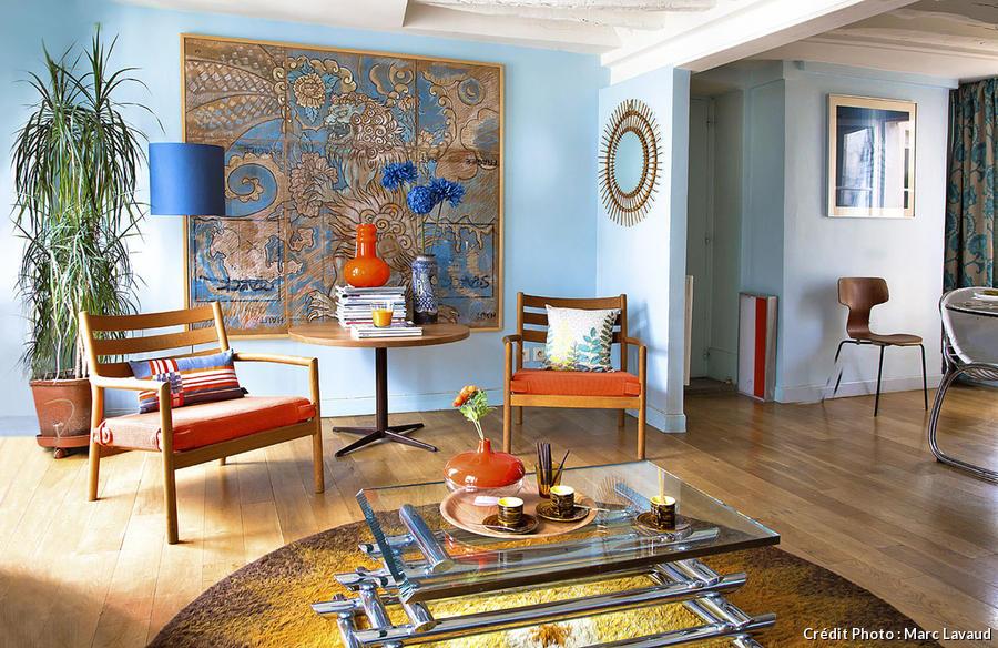 Un Appartement De Style Vintage Paris Maison Crative