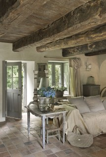 Rustic French Country Cottage Interiors