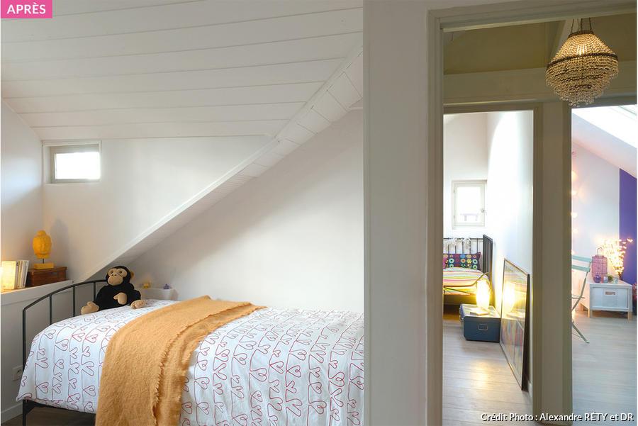 Amnagement combles chambre sous les toits  Maison Crative