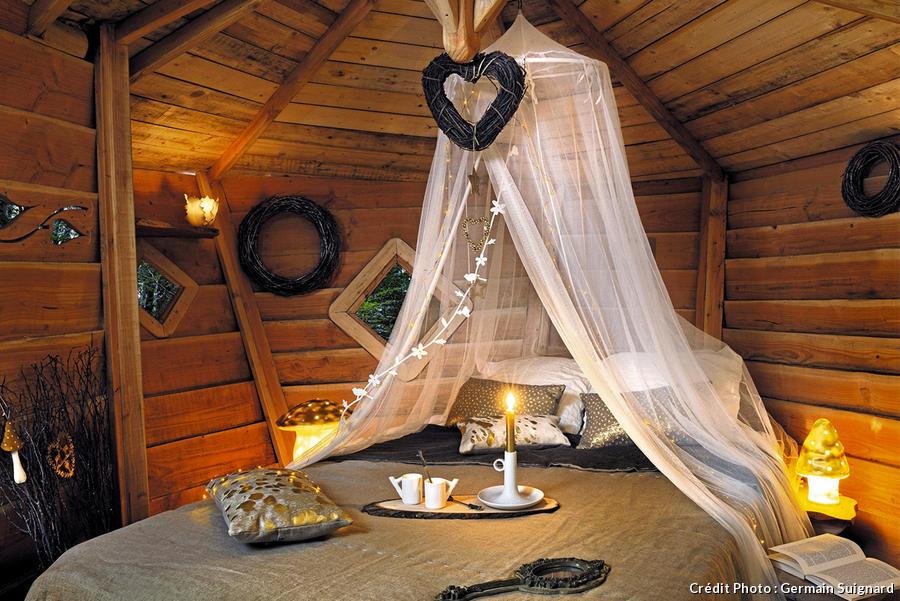 Une Cabane Perche Pour Un Nol Enchant Maison Crative