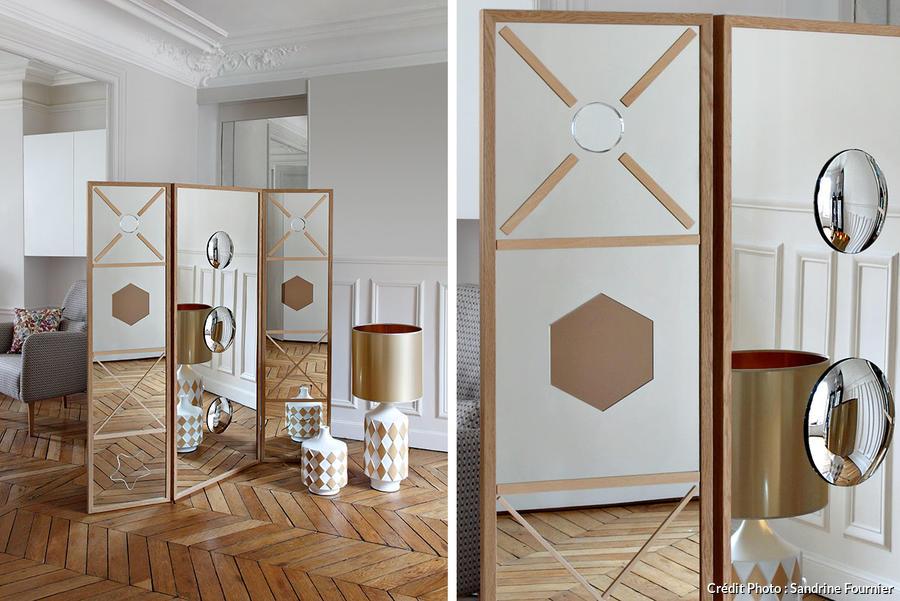 Un Paravent Effet Miroir Maison Crative