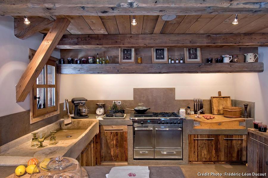 Un Chalet Brut Dlgance Maison Crative