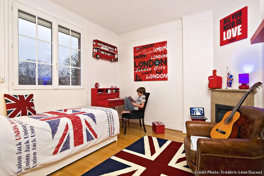 Une Chambre Dado Made In London Maison Crative