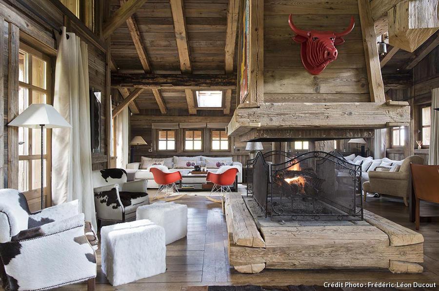 eames fiberglass chair wayfair outdoor chaise lounge chairs le design réinvente chalet de montagne - maison créative