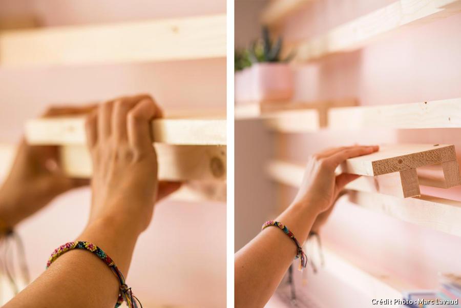 Les étagères sur mesure