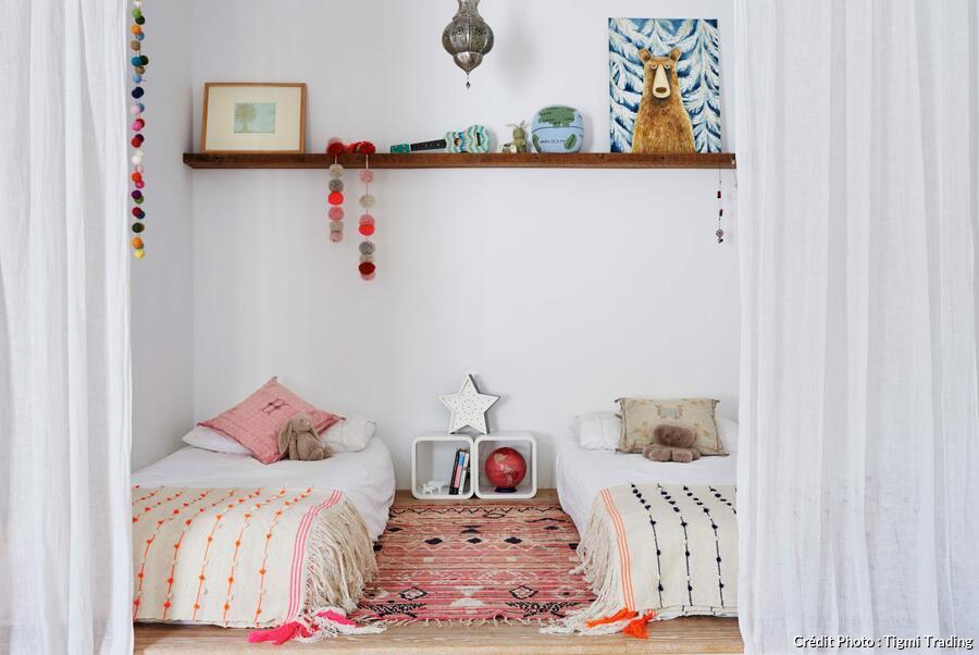 Sparer une chambre en deux sans cloison 8 astuces  Maison Crative
