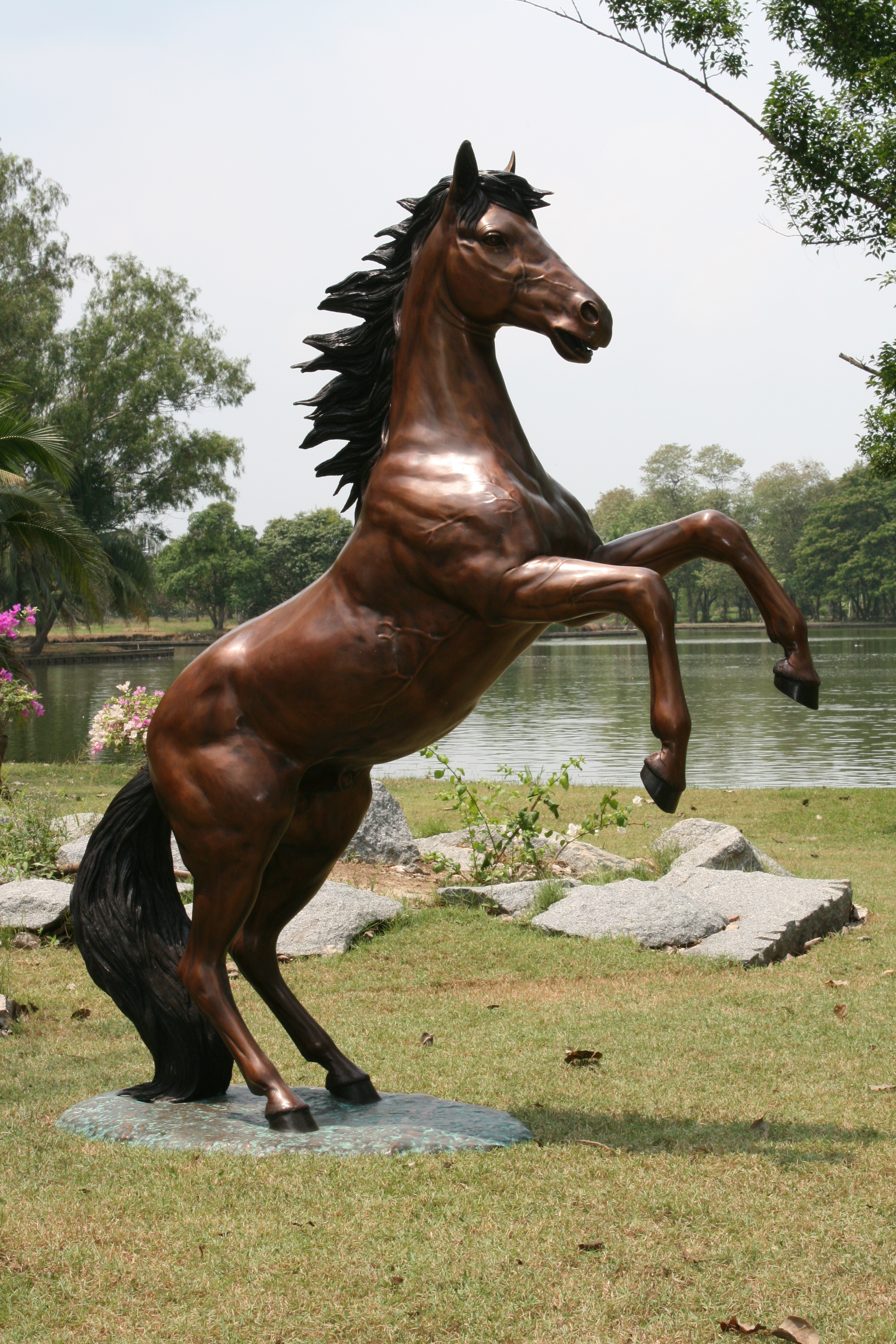 Rearing Stallion  Maison Decor