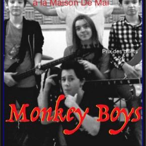 Les Monkey Boys en concert le 21 avril 2017 à 20h