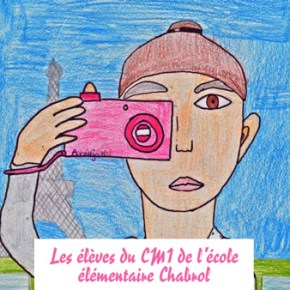 Exposition de photographies du 15 au  21 juin par les élèves du CM1 de l'école élémentaire Chabrol