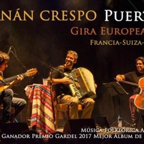 Hernán Crespo, en concert vendredi 15 septembre à 20h