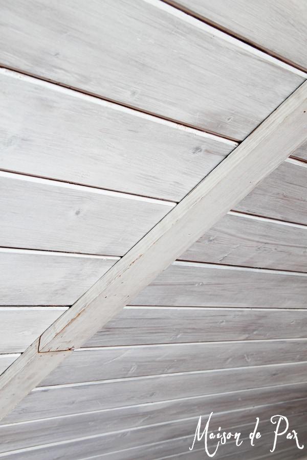 How To Whitewash Wood Maison De Pax