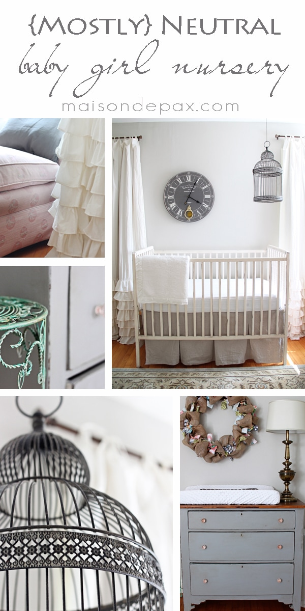 Baby Girls Nursery Reveal Maison De Pax