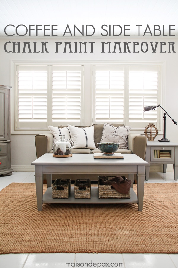 diy living room side tables modern style curtains gray chalk paint coffee and table maison de pax gorgeous simple makeover maisondepax com