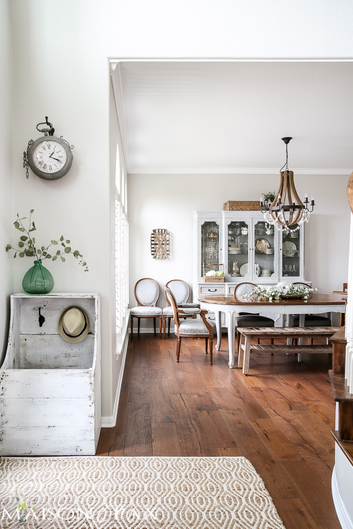 Spring Living Room and Dining Room - Maison de Pax
