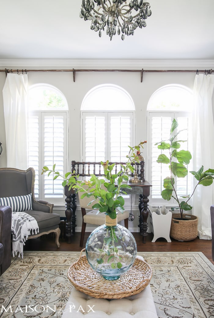 Classy yet Affordable White Curtains  Maison de Pax