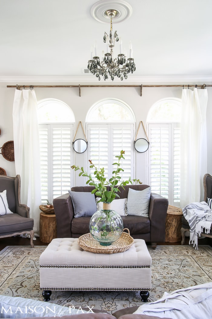 classy yet affordable white curtains