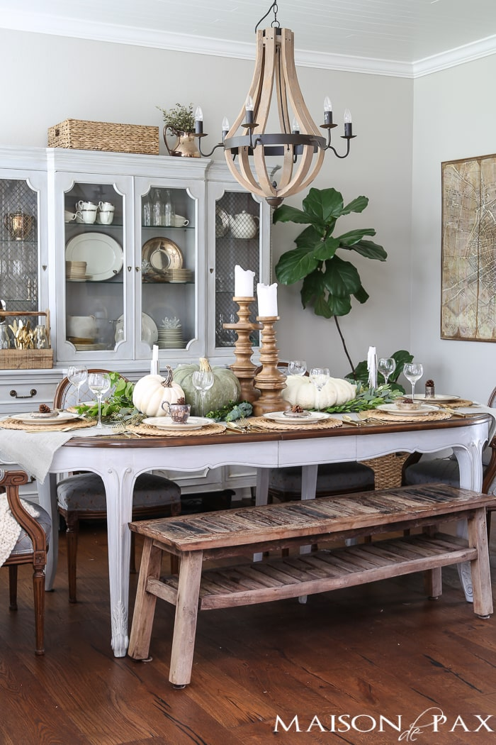 Thanksgiving Table Decorations and Ideas  Maison de Pax