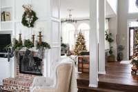 Green and White Christmas Decorating Ideas - Maison de Pax