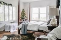 White Christmas Master Bedroom - Maison de Pax