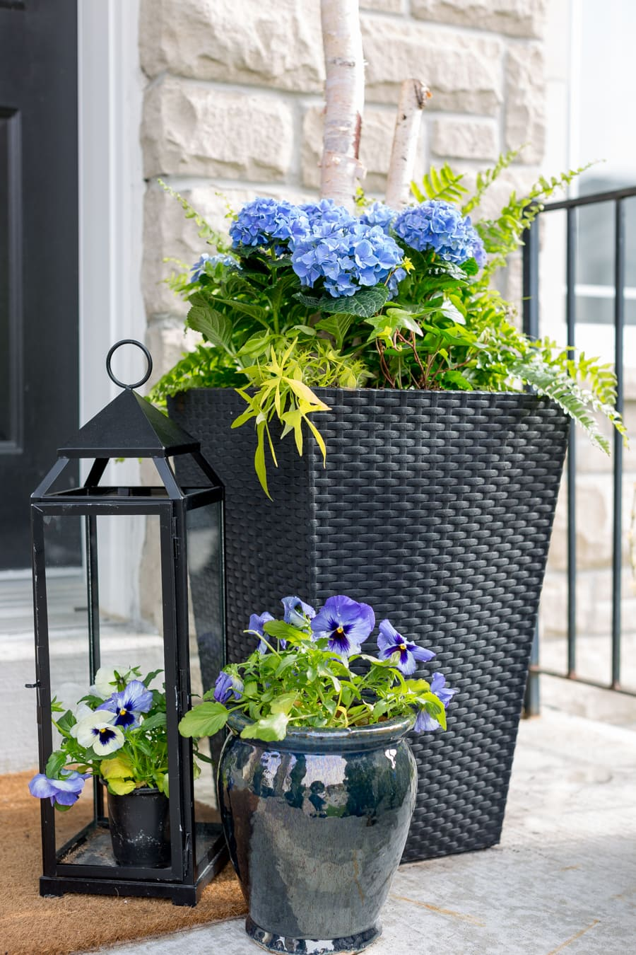 Inexpensive Planters Tall