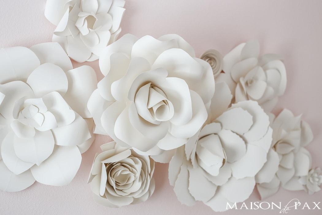 Paper Flowers Wall Decor Diy