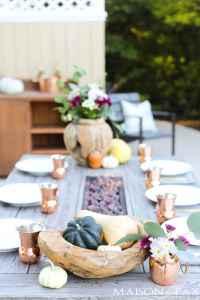 Thanksgiving Table Decorations and Ideas - Maison de Pax