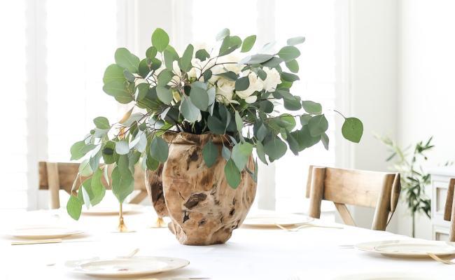 Simple Elegant Easter Tablescape Maison De Pax