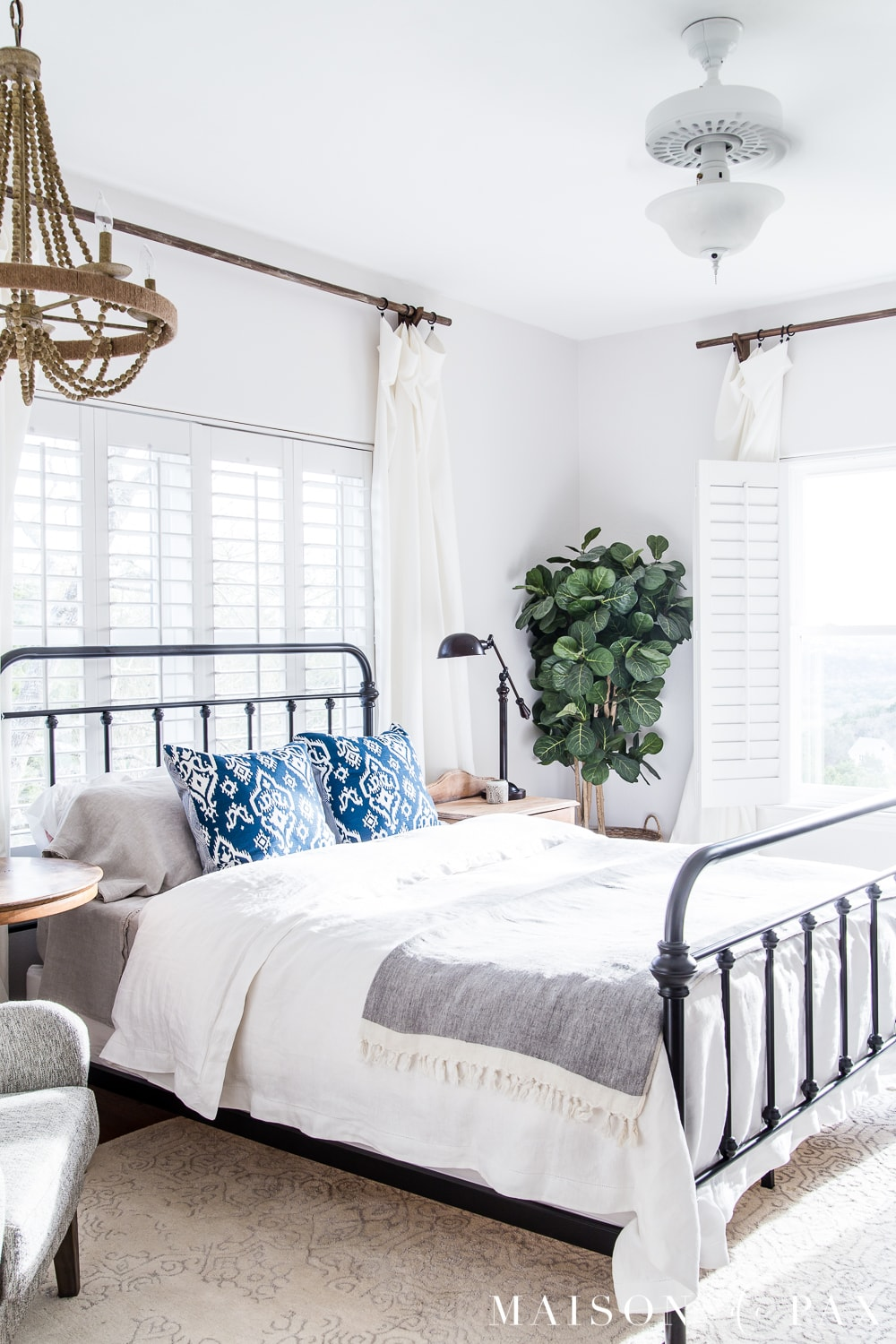 Simple Master Bedroom Decorating Ideas for Spring  Maison
