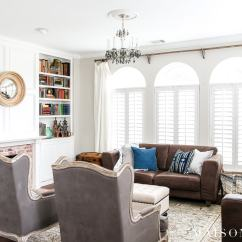Decorate Your Living Room Small Decor Ideas 2016 How To A Spring Maison De Pax White And Gray With Pops Of Blue Green For Wondering