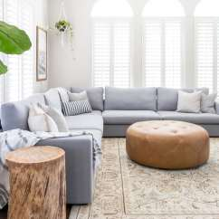 Decorate Living Room Pictures Ceiling Lights Ideas How To A With Sectional Maison De Pax