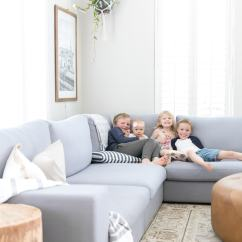 Living Room Sectional Ideas Interior Paint How To Decorate A With Maison De Pax This Huge Gray Is Perfect For Family Find Out