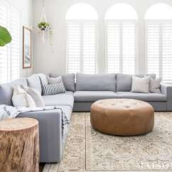 Small Living Room Ideas Blue Sunroom Designing A With Large Sectional Maison De Pax Bright Design