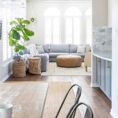 Grey Sectional Living Room Ideas Blue Chair Designing A Small With Large Maison De Pax Bright Design