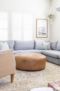 Designing a Small Living Room with a Large Sectional ...