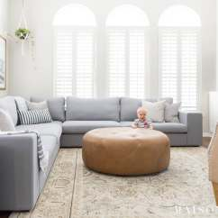 Living Room Sectional Ideas Metallic Cowhide Rug In Designing A Small With Large Maison De Pax Bright Design