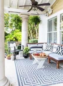 Summer Porch Decor Ideas Ferns And Succulents - Maison De Pax