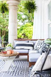 Summer Porch Decor Ideas Ferns And Succulents - Maison De Pax