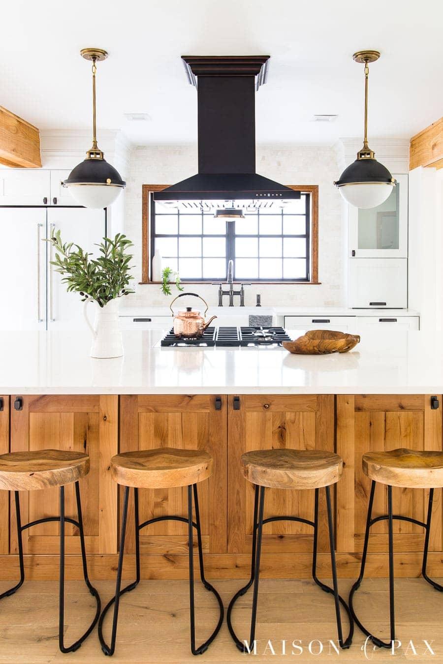 Rustic Modern Kitchen Cabinets Maison De Pax