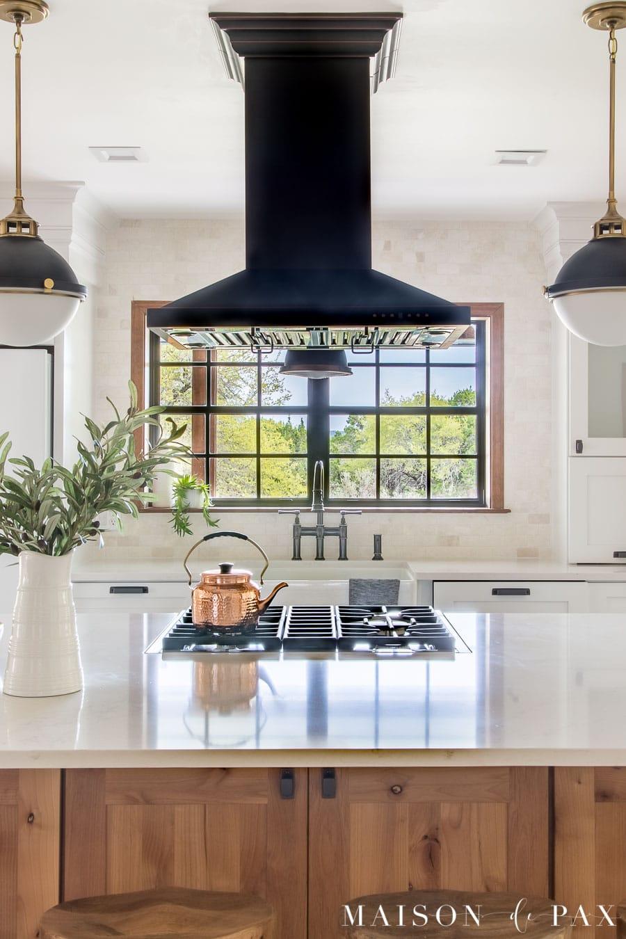 rustic modern farmhouse kitchen reveal