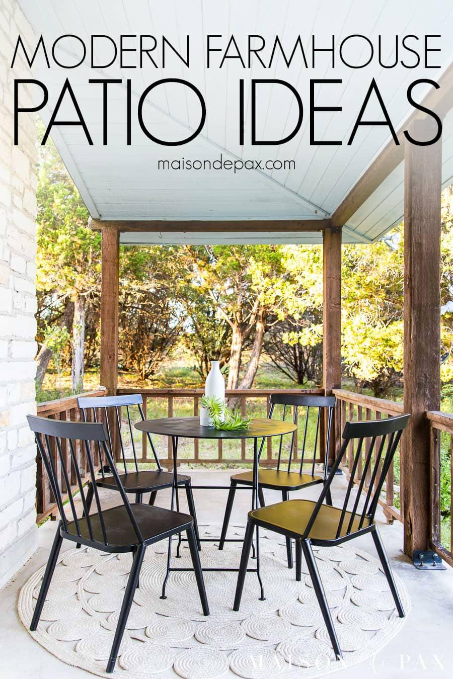 modern farmhouse porch reveal maison