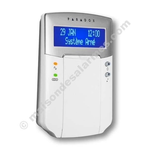 CLAVIER LCD PARADOX K32LCD (profil - fermé)